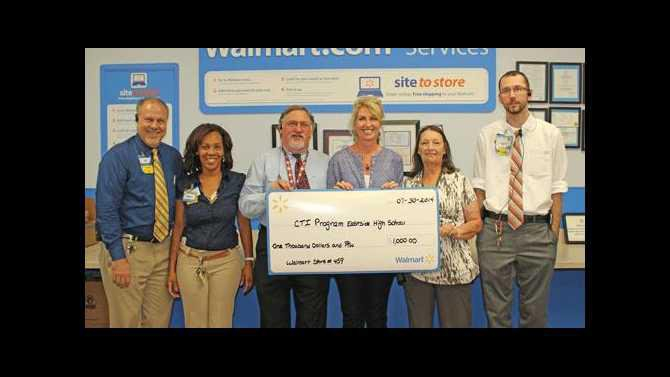 Eastside teacher wins $1,000 Walmart grant - The Covington News