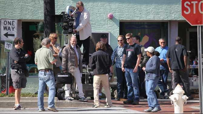 film shooting crew Joyful Noise IMG 0235