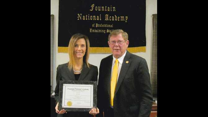 Caldwell and Cowan embalmer completes advanced training