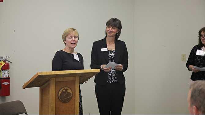 0313NEWTONFUND action ministries Nancy McDonald and Tamara Richardson