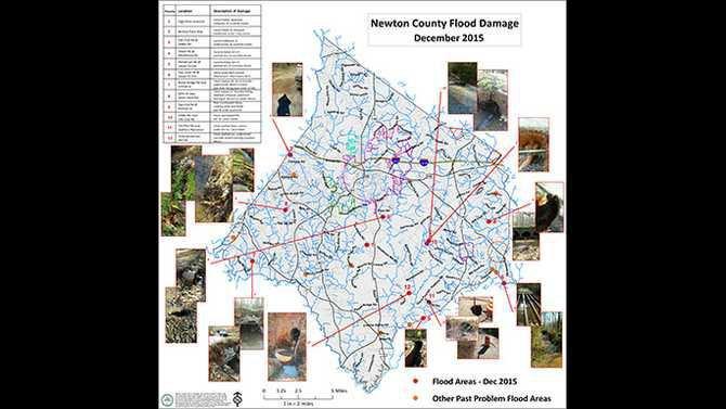 EMA Flood Areas 18x18
