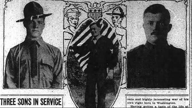 The Washington Post Sun  Jan 27  1918 Papa-Uncle-Arthur--Tommy