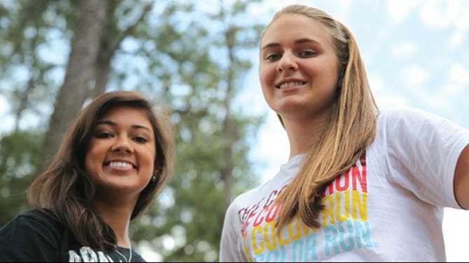 HHKaylee and Lauren5-21-12