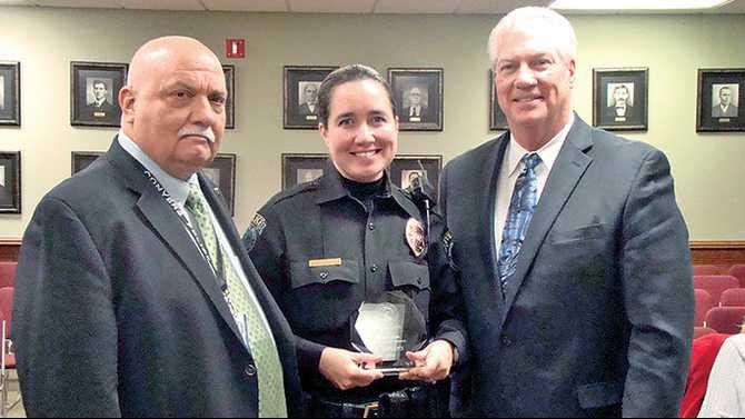 Conyers-Police-Kim-Lucas 10-years-of-service