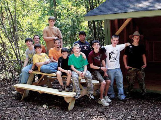 Boy-Scouts-table-project---