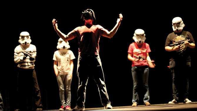 nondress rehearsal - Darth Vader - Drew Allen IMG 1840