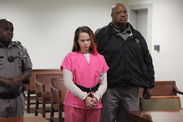 Cortney Bell in court