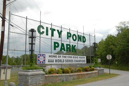 City Park Pond
