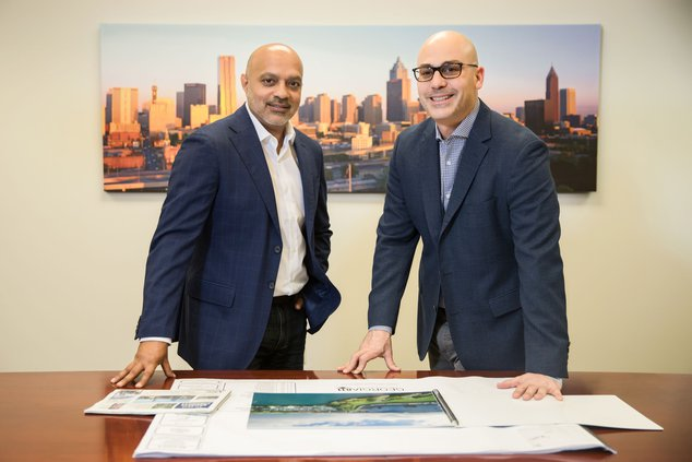 Rahim Charania and Cary Goldman look to bring the nation's largest film studio to Covington.