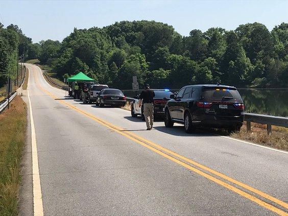 Police Search off Bridge
