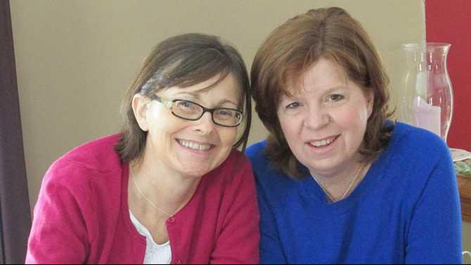 0801kidney---Lisa-Hetzel-and-her-cousin-Denise-Team-Kidney-Jan-2015 Rockdale News