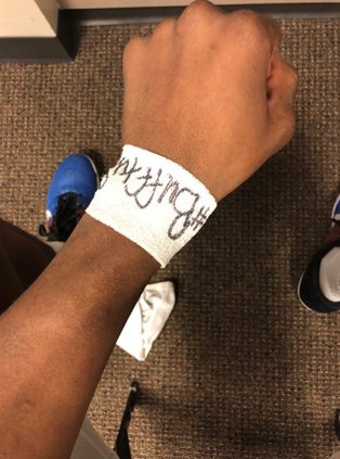 Hagans Wrist Tape