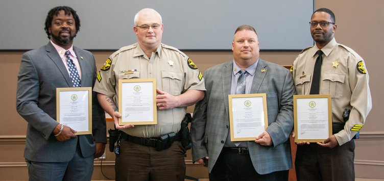 Newton County Sheriff's Office Recipients of Promotions