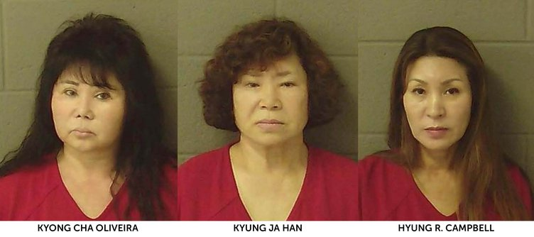 Mugshots One Woman Remains In Jail After Fridays Massage -7025