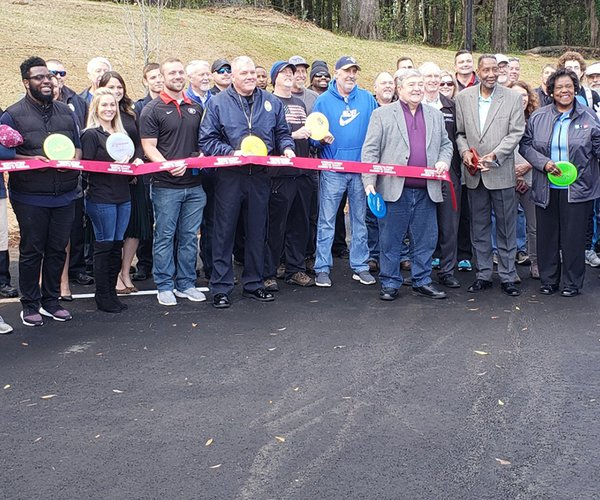 Central Park Ribbon Cutting