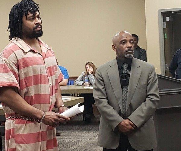 Denson in Court